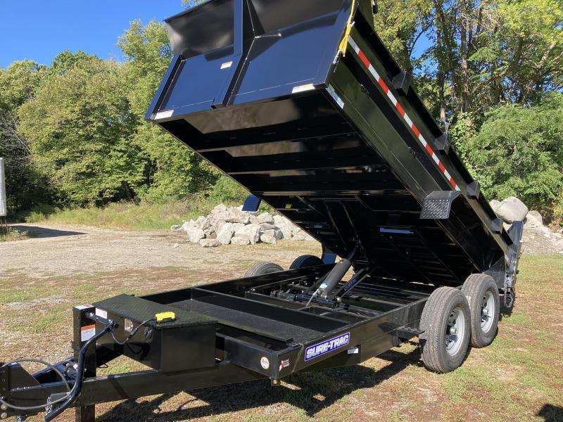2022 Sure-Trac 82 IN x 14 HD Low Profile Dump Trailer