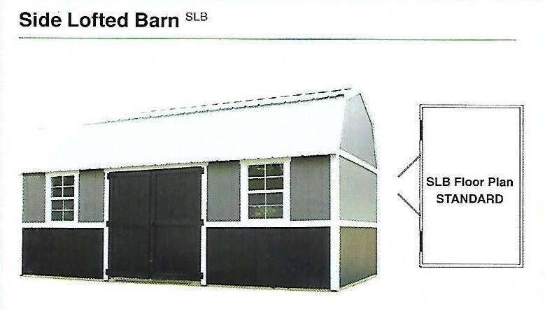 2020 Premier Side Lofted Barn