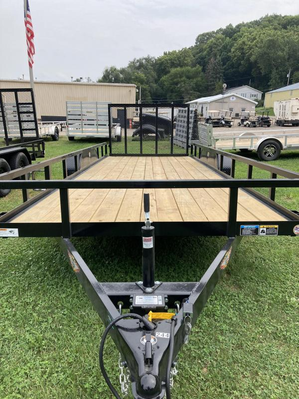 2021 H and H Trailer H8220TRS-070 Utility Trailer