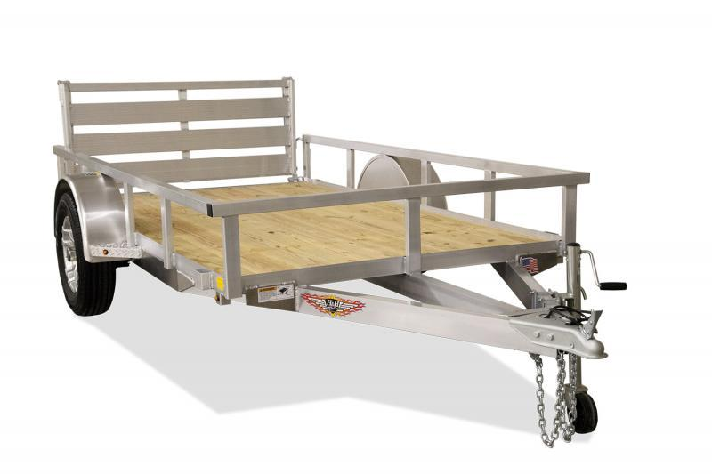 2020 H and H Trailer 76x12 Aluminum Rail Side Utility
