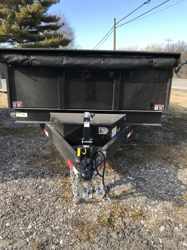 2021 H and H Trailer H8314DBW-B-140 Dump Trailer