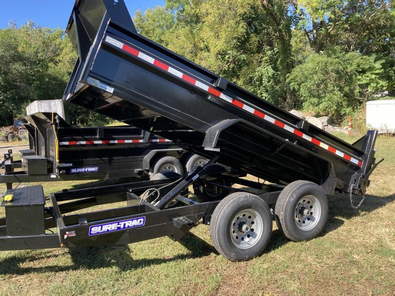 2022 Sure-Trac 6 x 12 SD Low Profile Dump Trailer  10K