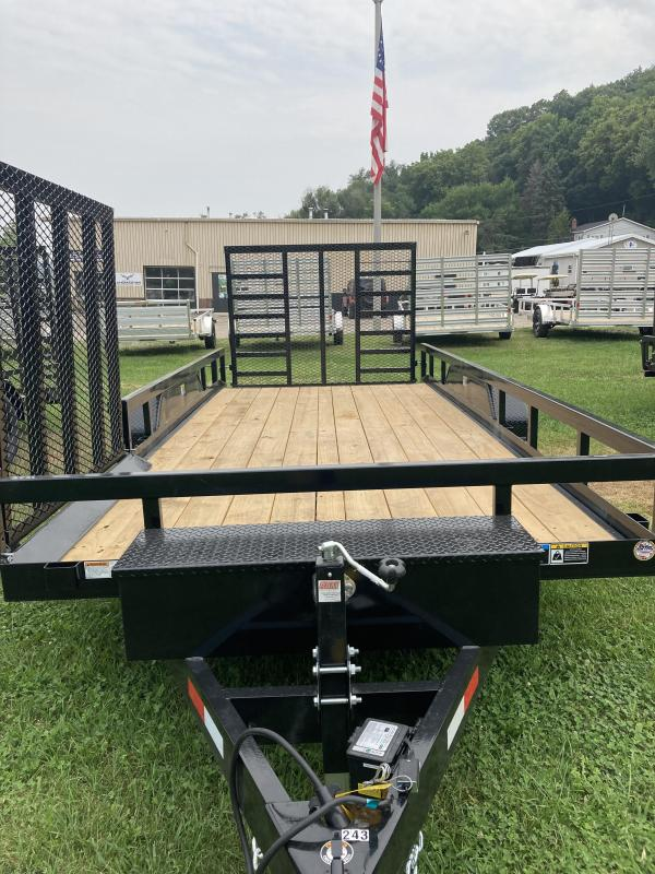 2021 H and H Trailer H8216+2HTRSD-100 Utility Trailer