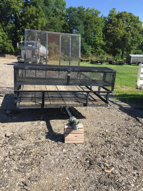 2019 Other Flatbed 72x8 Utility Trailer