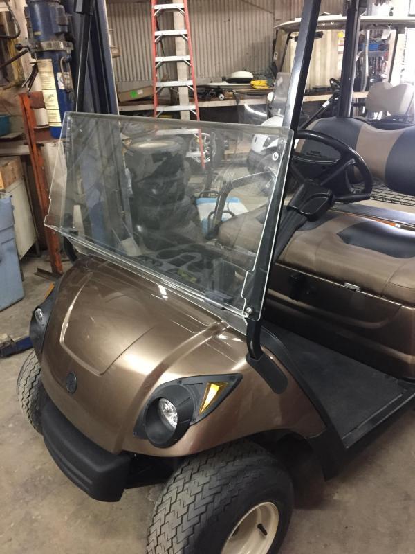 2012 Yamaha YDRAKX2 2 Seat Golf Cart