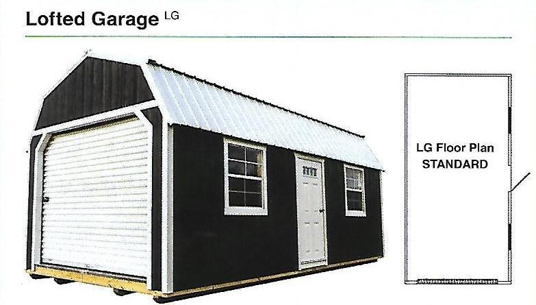 2020 Premier Lofted Garage