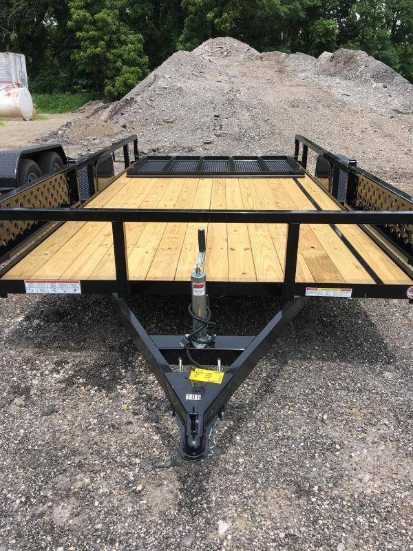 2020 H and H 82x14 Steel ATV Trailer