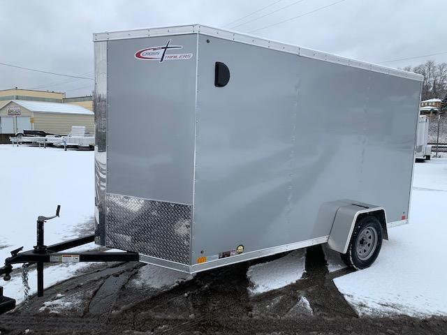 2019 Cross Trailers 6X12 ALPHA V-FRONT Enclosed Cargo Trailer