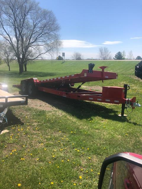 2021 20 and 24 foot Electric Tiltbed