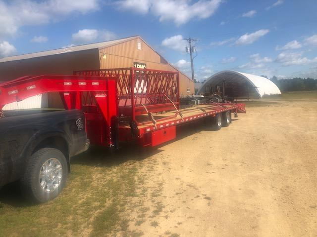 2020 B-B Flatbed Trailer (RED)