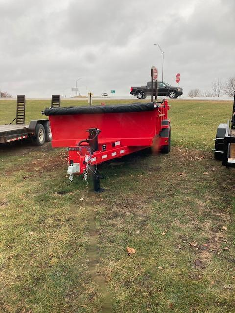 2021 14 foot bumper and GN Dump Trailer