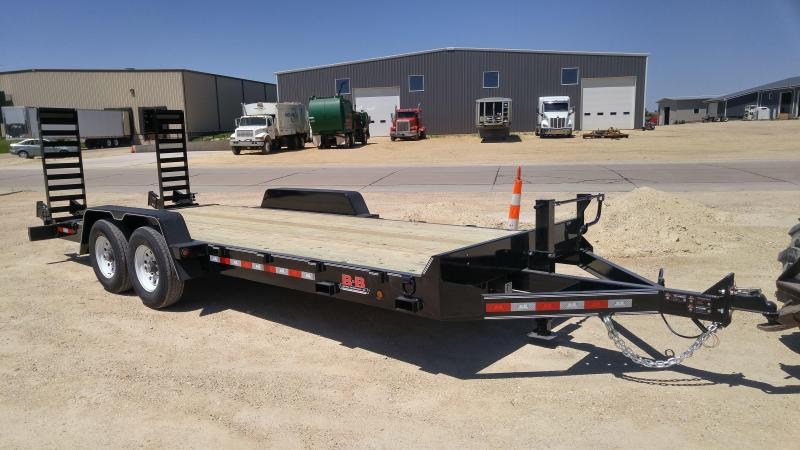 2021 B-B CBCT2416E-S Equipment Trailer
