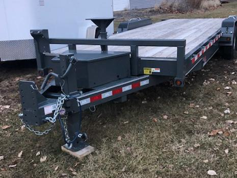 B-B 24' Doc Special Electric Tilt Trailer
