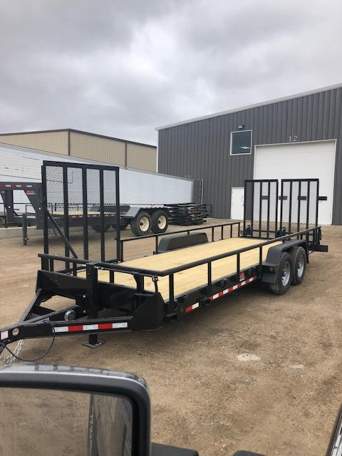 2021 B-B Heavy Duty Utility Trailer