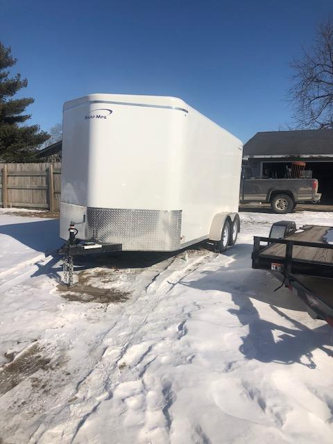 2018 Sharp Enclosed Cargo Trailer