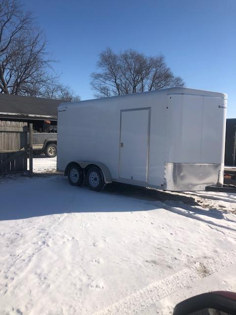 2018 Sharp 14 Footer Utility Trailer