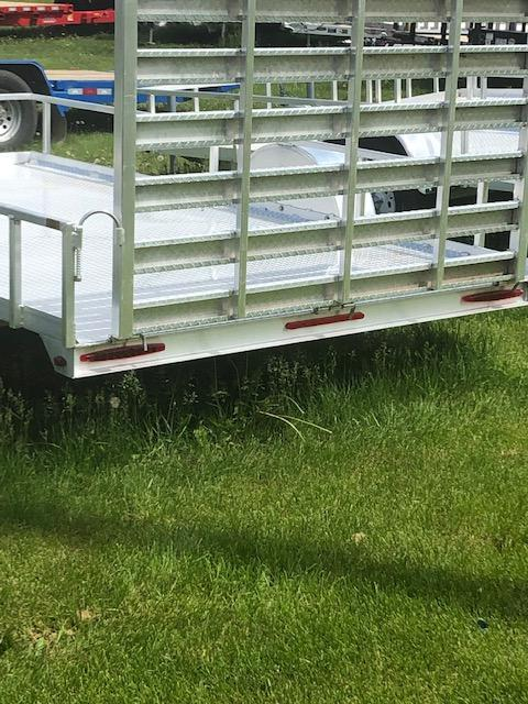 2019 Pacesetter Trailers 76x12 and 82x12 Utility Trailer