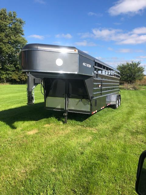 2019 16' Pacesetter Trailers Livestock Truck Boxes (Livestock and Dog)