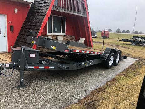 B-B 20' Full Tilt 2.0 Tube Tilt Trailer