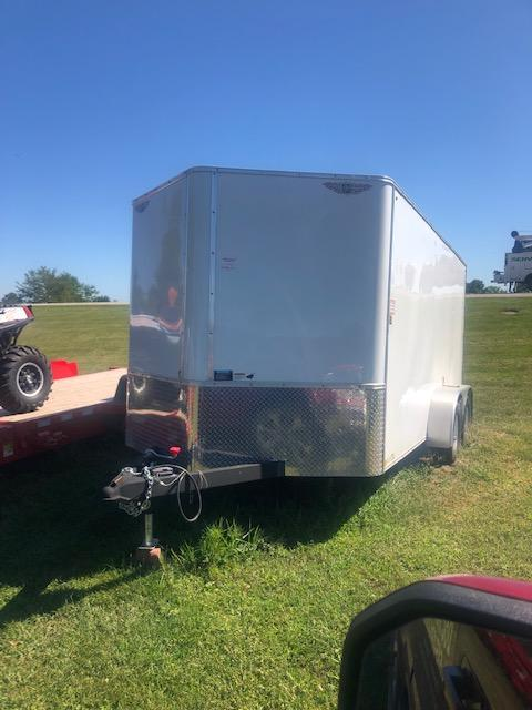 2010 H & H Trailers Used 14 Foot Enclosed Cargo Trailer (SOLD)