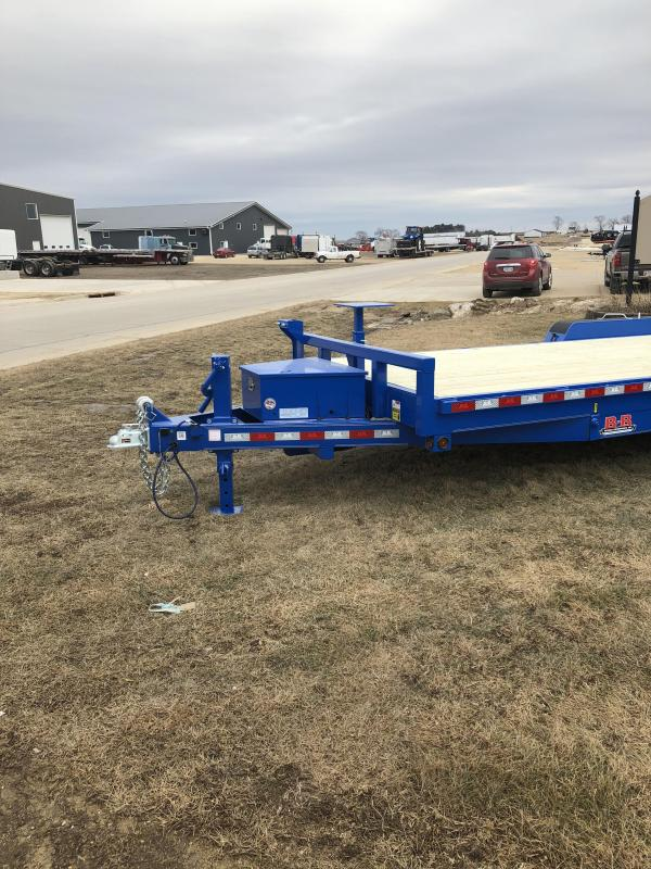 Behnke 20' Doc Special Electric Tilt Trailer