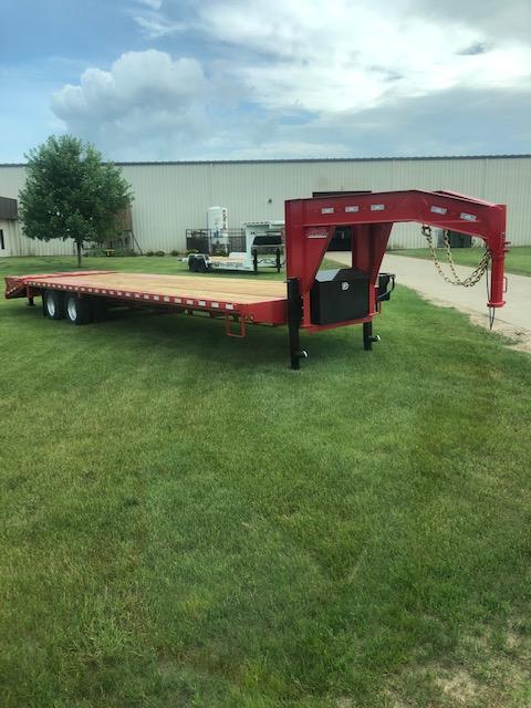 2021 B-B FlatBed Trailer - 30 Foot