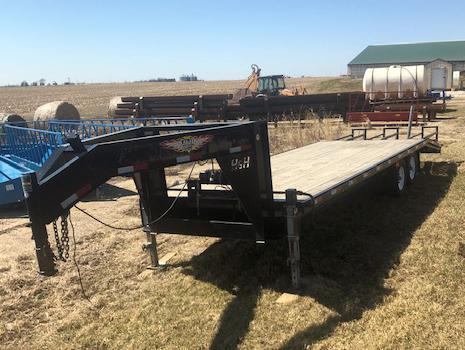 Used H & H Flatbed Trailer