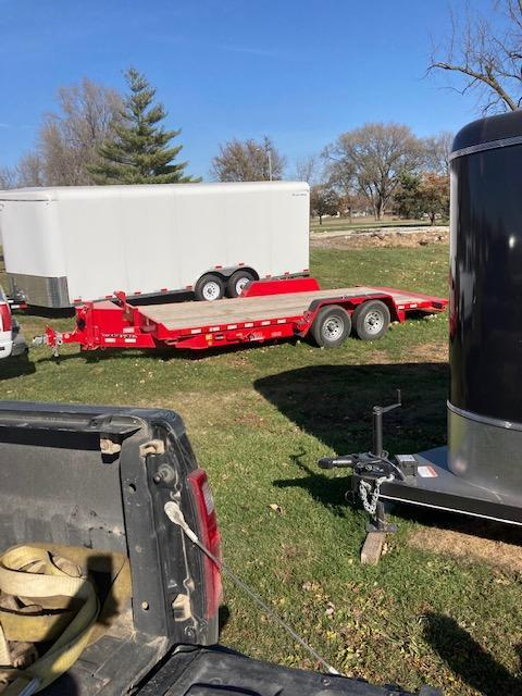 2021 20 Foot Full Tilt Flatbed Trailer