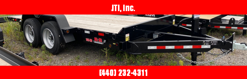 2020 B-B 7X18 Equipment Trailer