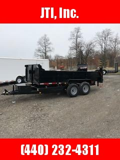 "2020 Quality Steel 83"" x 14' Dump Trailer"