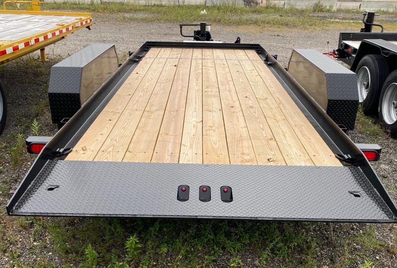 2020 B-B 7x20 Split Tilt Equipment Trailer