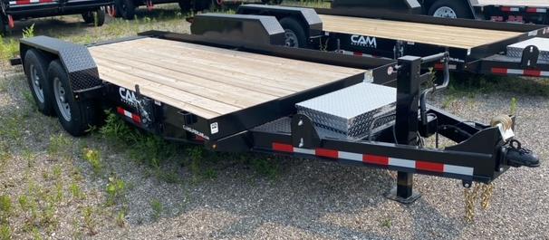 2021 Cam Superline 7X18 Equipment Trailer