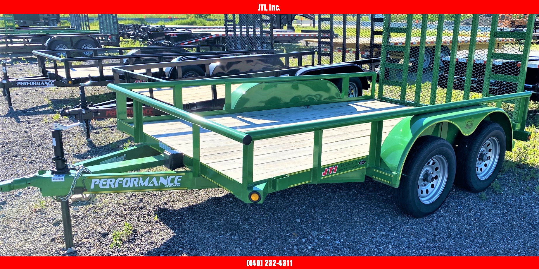 2019 Performance Trailers 7x12 Utility Trailer