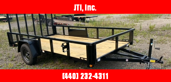 2021 Quality Steel and Aluminum6'X12' Landscape Trailer