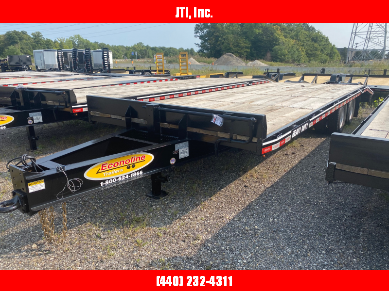 2020 Econoline 7X27 Equipment Trailer