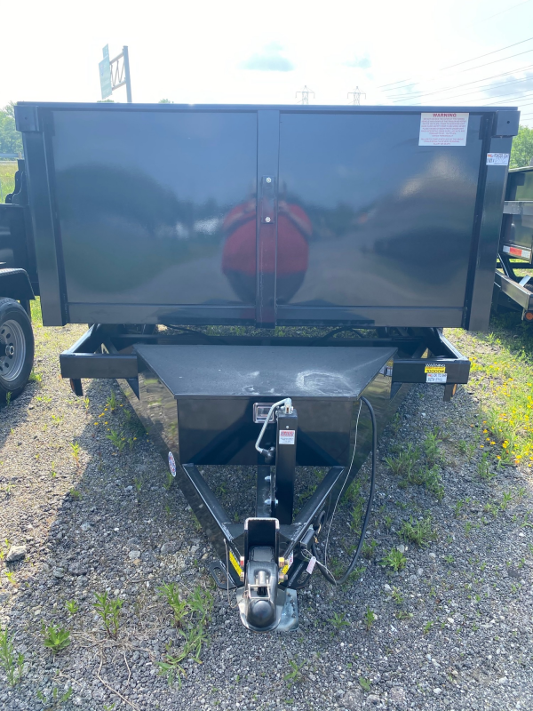 2021 Quality Steel and Aluminum 7X12 10k Dump Trailer