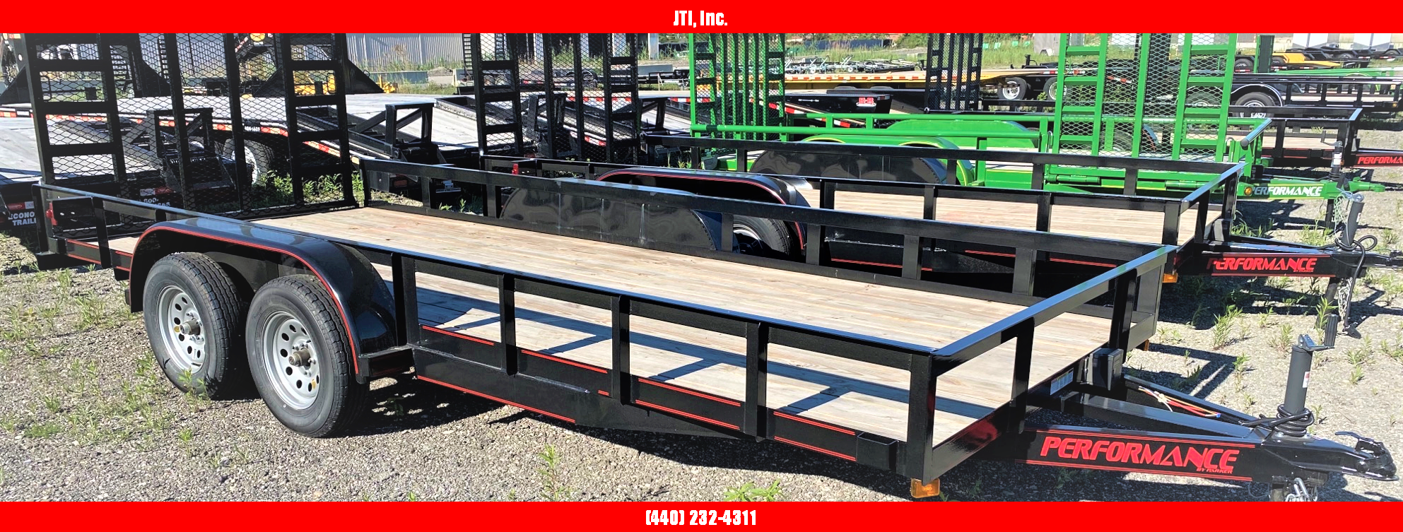 2020 Parker Trailers ra7716 Utility Trailer