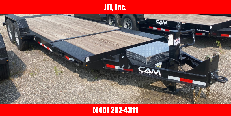 2020 Cam Superline 7X21 Equipment Trailer