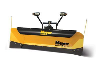 MEYER SNOWPLOW LOT PRO POLY Snow Plow