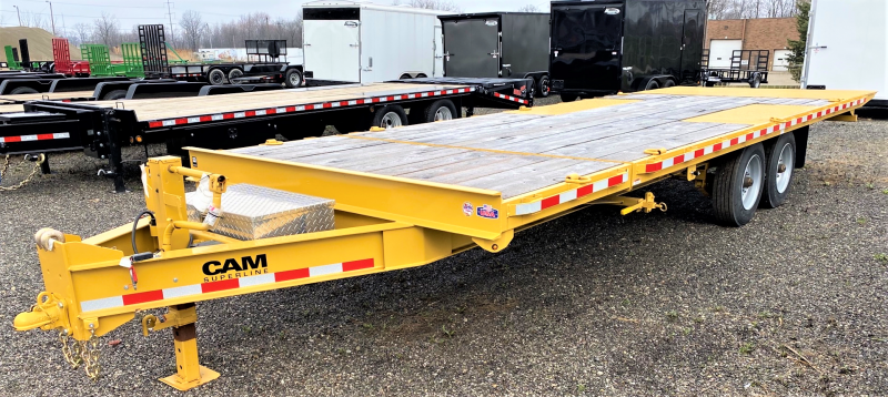 2020 Cam Superline 7x20 Full Tilt Equipment Trailer