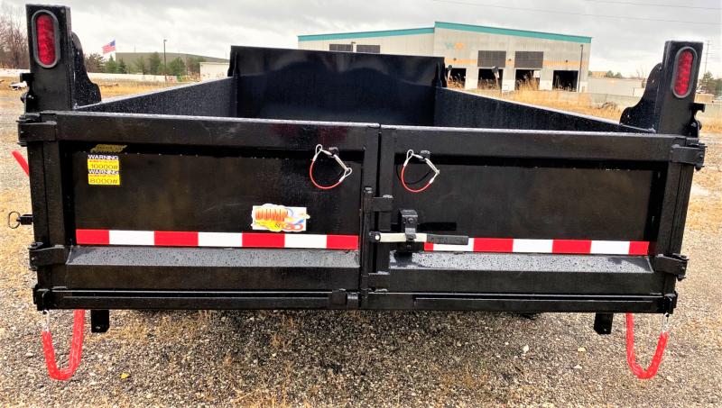 "2020 Quality Steel and Aluminum 83""X16' Dump Trailer"