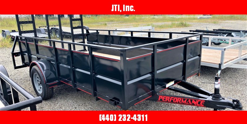 2020 Parker Trailers 7x12 Utility Trailer