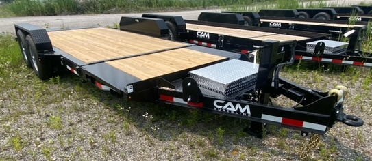 2021 Cam Superline 7X19 Equipment Trailer