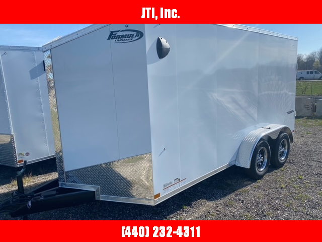 2021 Formula 7x12 Enclosed Cargo Trailer