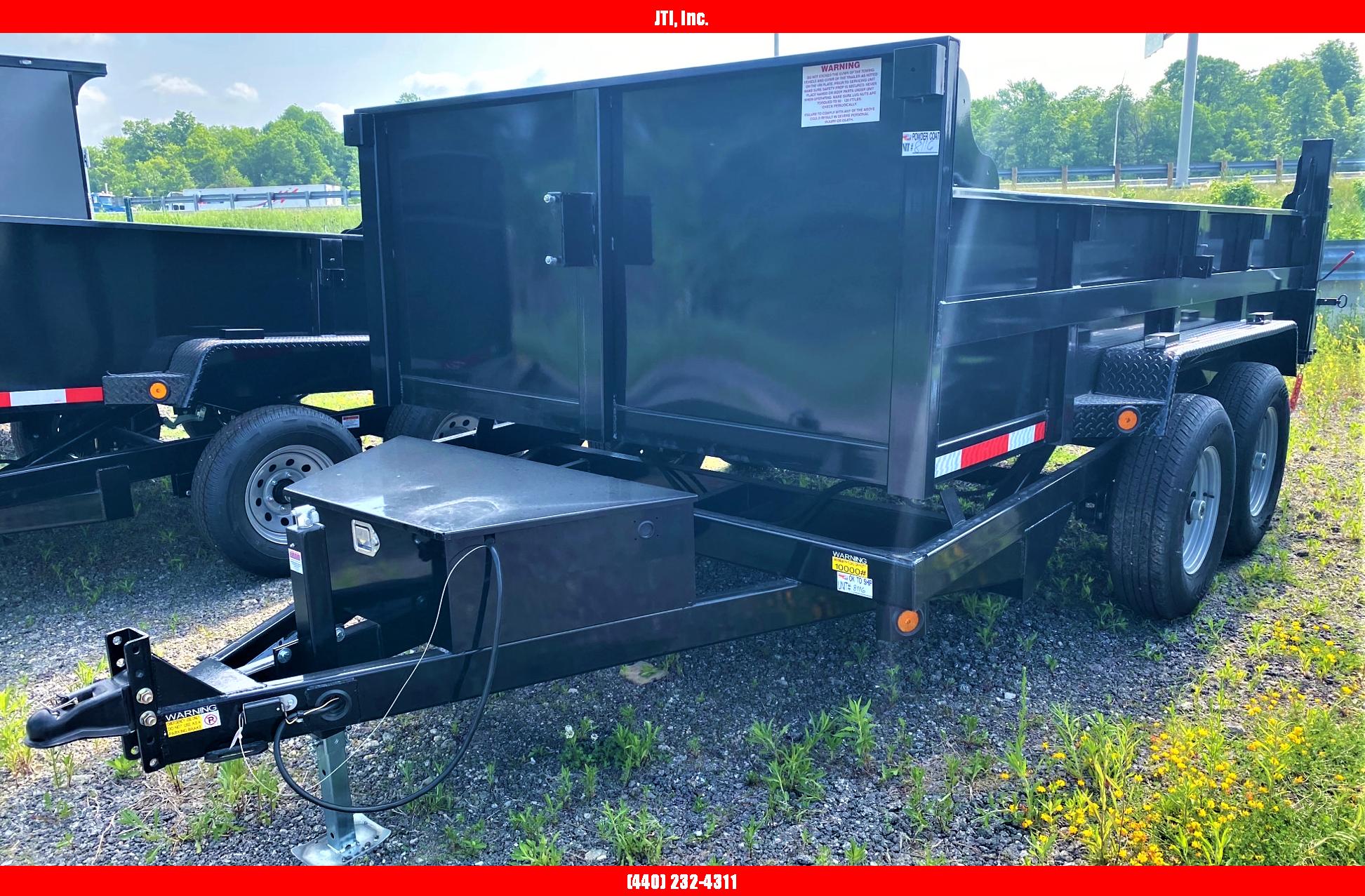2021 Quality Steel and Aluminum 7x12 Dump Trailer