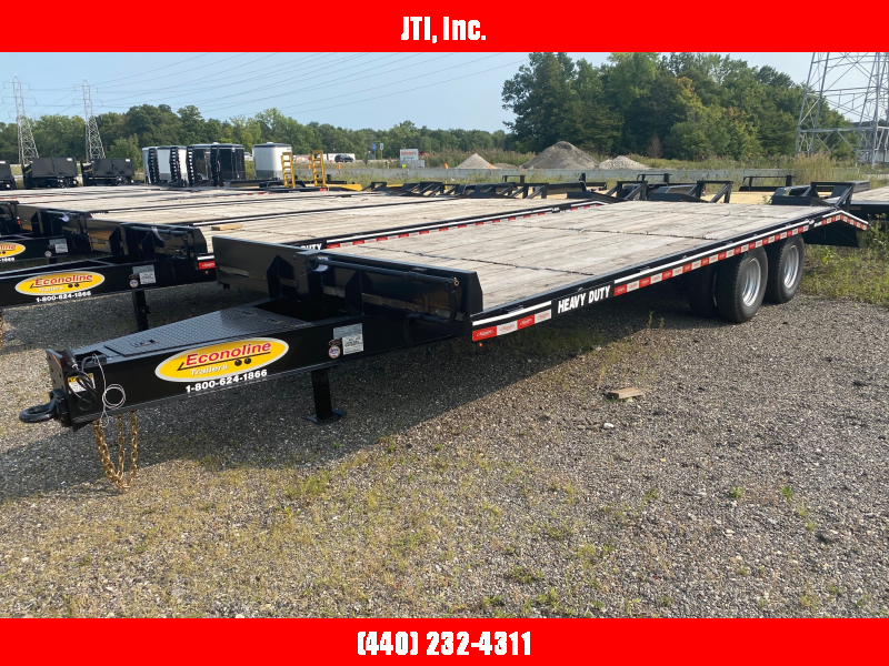 2020 Econoline 7X30 Equipment Trailer