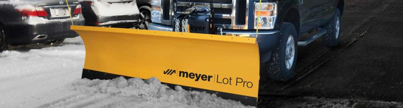 2020 Meyer Lot Pro Steel Standard Operating Systems Snow Plow
