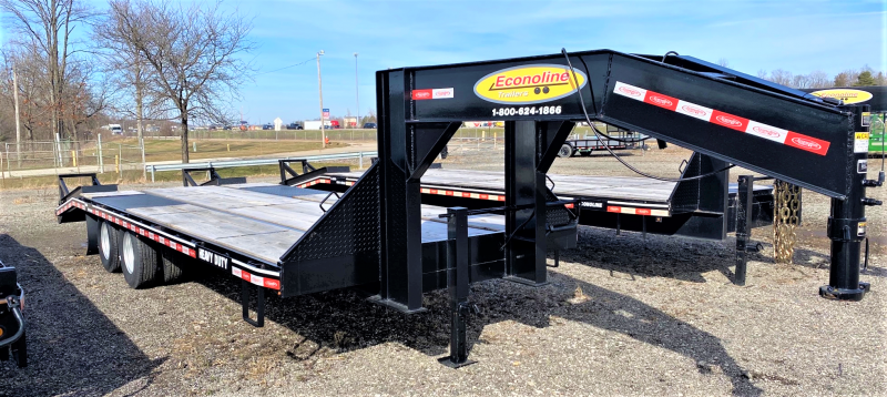 2019 Econoline 25' Equipment Trailer