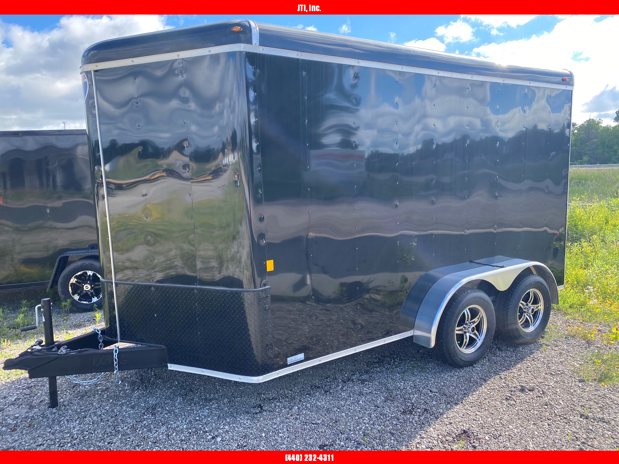 2020 Interstate 1 7X12 Enclosed Cargo Trailer