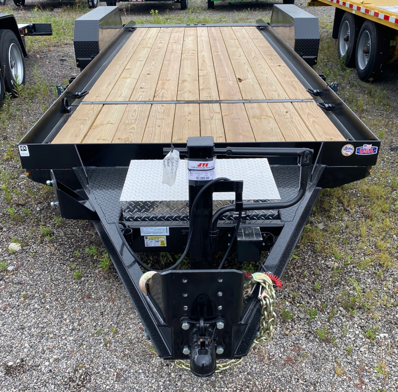 2020 CAM Superline 7x20 Split Tilt Equipment Trailer